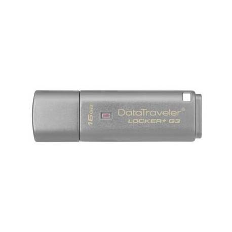 Kingston 16GB USB3.0 DT LOCKER G3 CON AUTOMATIC DATA SECURITY