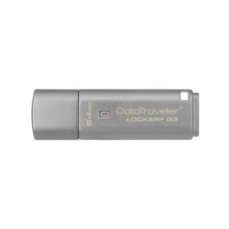Kingston 64GB USB3.0 DT LOCKER G3 CON AUTOMATIC DATA SECURITY