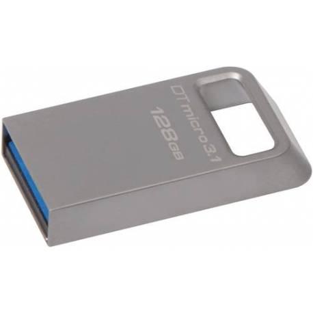 Kingston 128GB DTMICRO USB 3.1/3.0 TIPO A METAL ULTRA-COMPACT