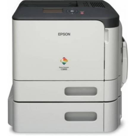 Epson IMPRESORA ACULASER COLOR C3900DTN 30PPM A4 USB2 ENET 4800X1200DPI