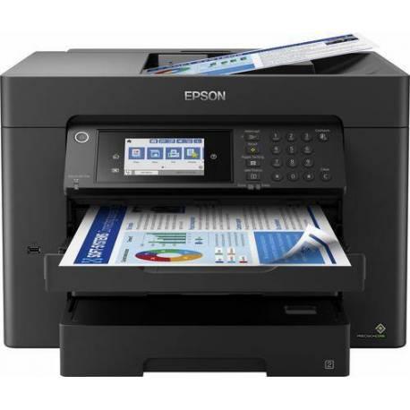 Epson IMPRESORA WF-7840DTW INKJET COLOR 4800X2400DPI 12PPM A4 IMPRIME COPIA ESCANEA FAX