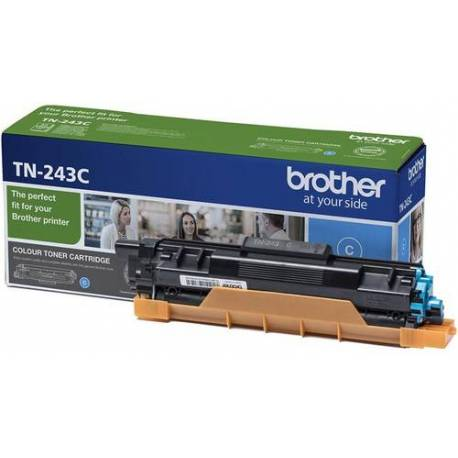 Brother CARTUCHO DE TONER TN-243C CIAN 1000 PAGINAS PARA DCP-L3510CDW L3550CDW