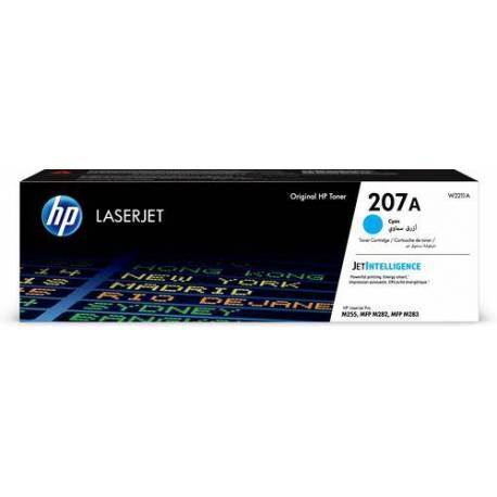 HP CARTUCHO DE TONER 207A CIAN LASERJET