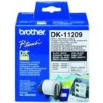 Brother DK SINGLE LABLE ROLLOS FOR QL-500/550 800PCS/RL 29X62M