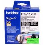 Brother DK SINGLE LABLE ROLLOS FOR QL-500 550 300PCS/RL 17X87M