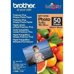 Brother BP61GLA BRILLANTE PAPEL PAPEL BRILLANTE 10X15 260 G