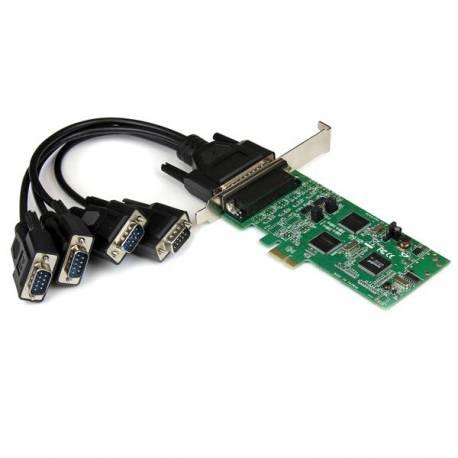 StarTech TARJETA ADAPTADOR PCI EXPRESS 4 PUERTOS SERIE RS232 485 422