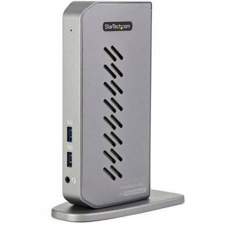 StarTech DOCK DUAL USB-C USB-A HIBRIDO USB 3.0 4K 60HZ HDMI DISPLAYPORT