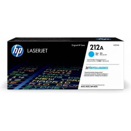 HP CARTUCHO TONER CIAN 212A ORIGINAL LASERJET