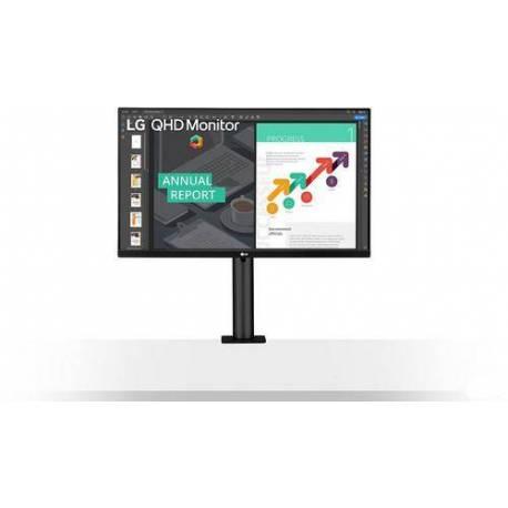 """LG MONITOR 27QN880-B 68.58CM 27"""" IPS 2560X1440 16:9 350CD 5MS HDMI"""