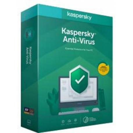 KASPERSKY ANTIVIRUS 2020 1 LICENCIA 1 AÑO