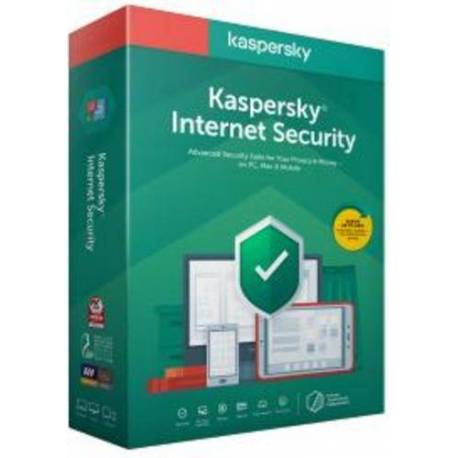 KASPERSKY INTERNET SECURITY MD 2020 3 LICENCIAS 1 AÑO RENOVACION