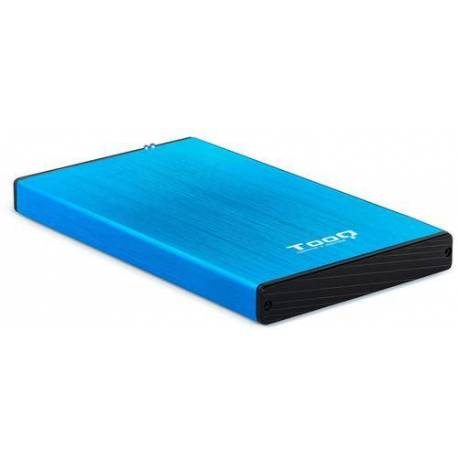 """TOOQ TQE-2527BL CAJA DISCO DURO 2.5"""" USB 3.1 GEN1 USB 3.0 AZUL"""