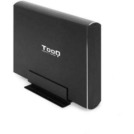 """TOOQ TQE-3531B CAJA DISCO DURO 3.5"""" USB 3.1 GEN1 NEGRA"""
