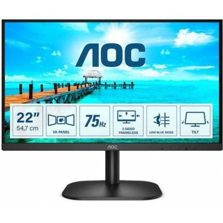 Aoc MONITOR 21.5 LED 1920x1080 FHD 16:9 22B2H 250CDM2 HDMI VGA