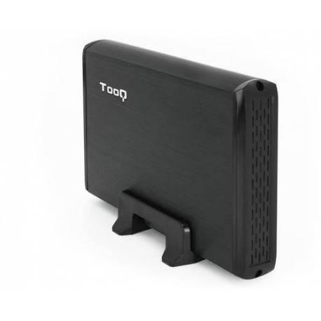 """TOOQ TQE-3509B CAJA EXTERNA DISCO DURO 3.5"""" SATA3 A USB 2.0"""