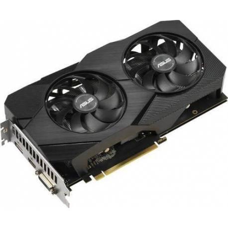 Asus TARJETA GRÁFICA DUAL-GTX1660-A6G-EVO 6GB GDDR5 HDMI DISPLAYPORT DVI
