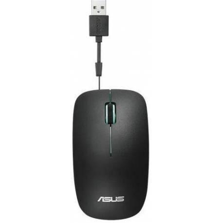 Asus RATÓN UT300 NEGRO AZUL COLOR RETRÁCTIL USB CABLE 1000DPI