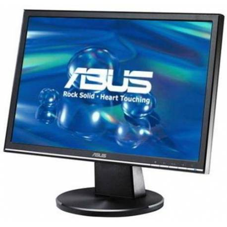 """Asus MONITOR 19"""" LCD 1440X900 16:10 5MS VW195S 2000:1 NEGRO"""