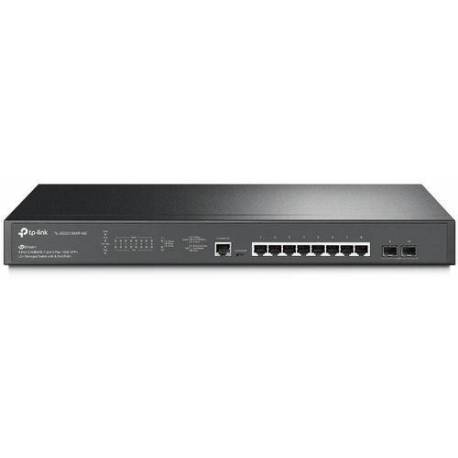 TP-Link SWITCH 8 PUERTOS 2.5G L2+ GESTIONADO CON 2 SFP POE+