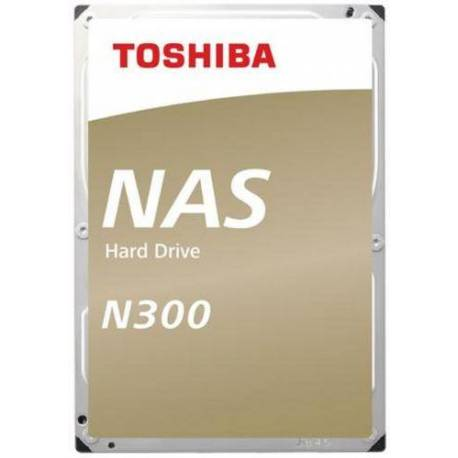 Toshiba DISCO DURO N300 NAS 16TB SATA 256MB 7200RPM 6GB/S 24X7