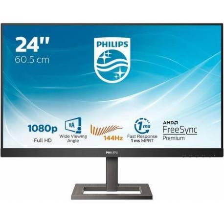"Philips MONITOR 23.8"" 1920x1080 FHD 144HZ 242E1GAEZ 350CDM HDMI DISPLAYPORT"