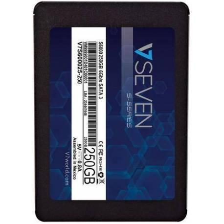 "V7 DISCO DURO 250GB INTERNAL SATA SSD 2.5"""