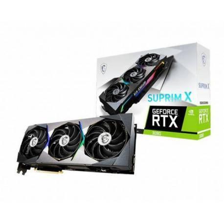 Msi TARJETA GRÁFICA RTX 3080 SUPRIM X 10GB LHR 43 MH/S
