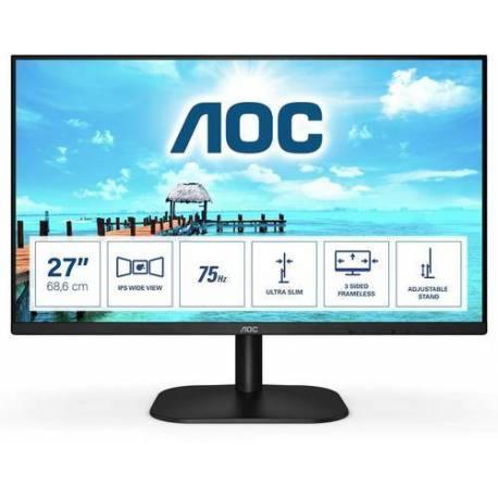 "Aoc MONITOR 27"" LCD 1920x1080 16:9 4MS 27B2H/EU 1000:1 VGA HDMI"